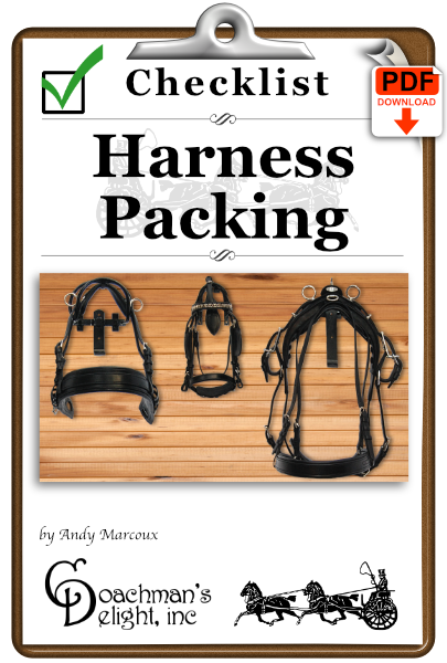Harness Packing Checklist 1