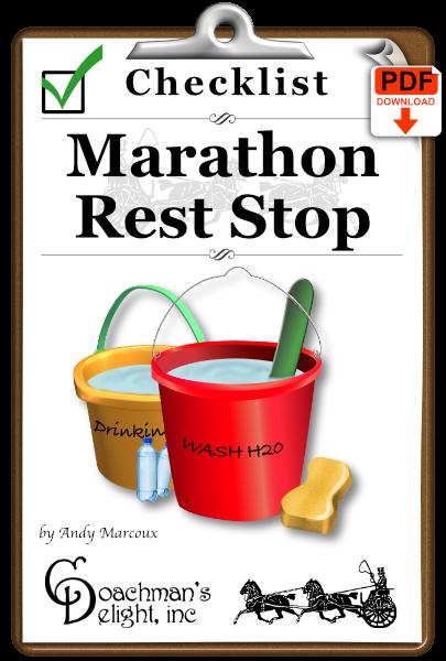 Rest Stop Checklist 1
