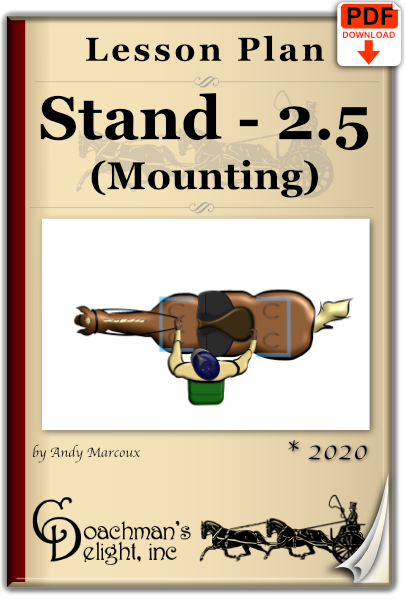 Stand at the Mounting Block 1