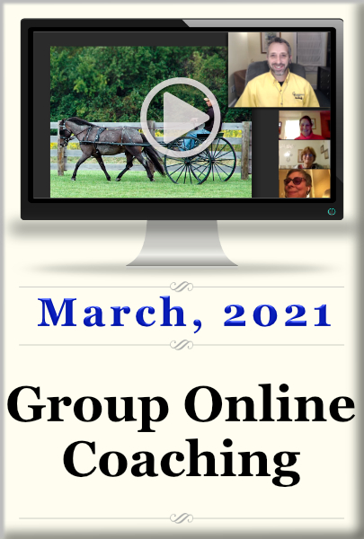 Group Online Coaching ~ March, 2021